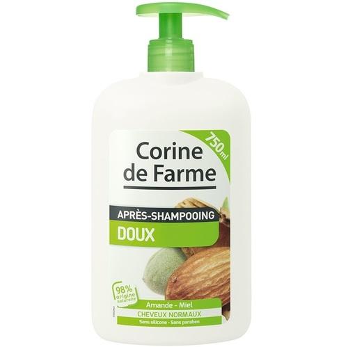 Corine de farme - Après-Shampoing doux Amande & Miel - 750 ml