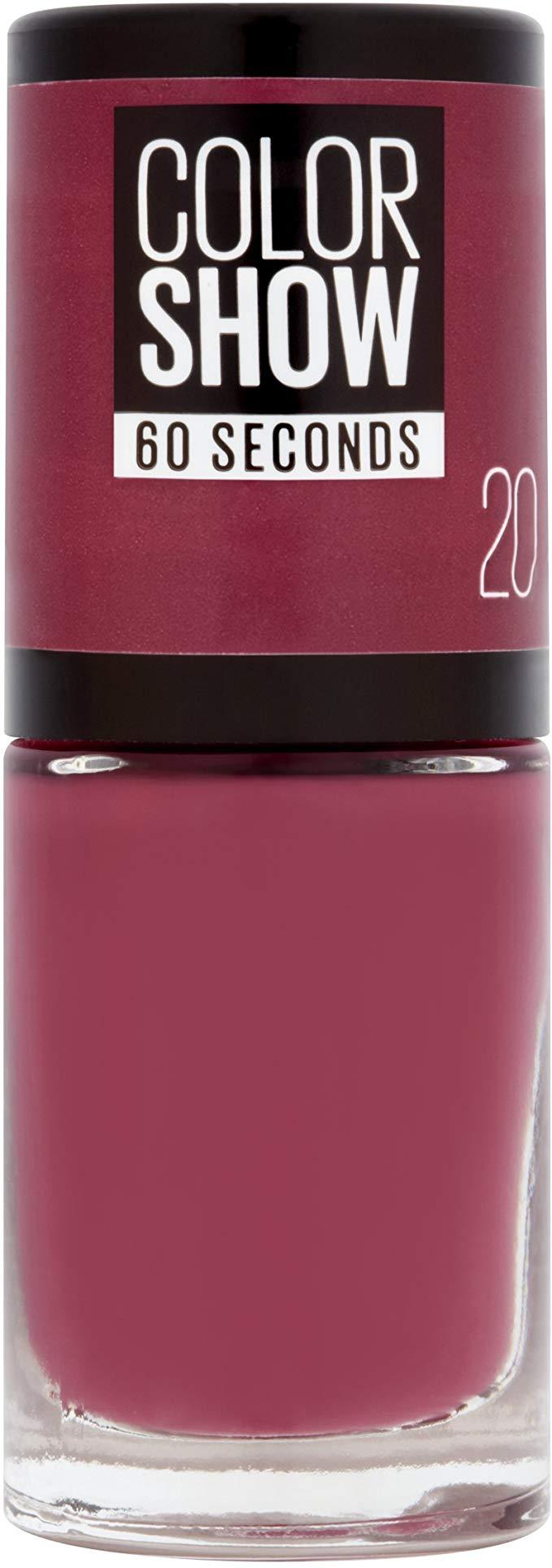 Maybelline - Vernis à ongles Colorshow (20) - Violet Bordeaux - 6,7ml