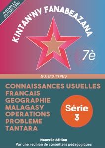 Sujet type cepe 6eme - Serie 3 (numerique)