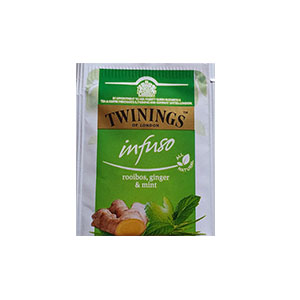 The Twinings - rooibos, gingembre, menthe - 10mg