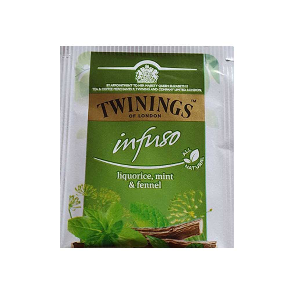 The Twinings - réglisse, menthe, fenouil - 10mg