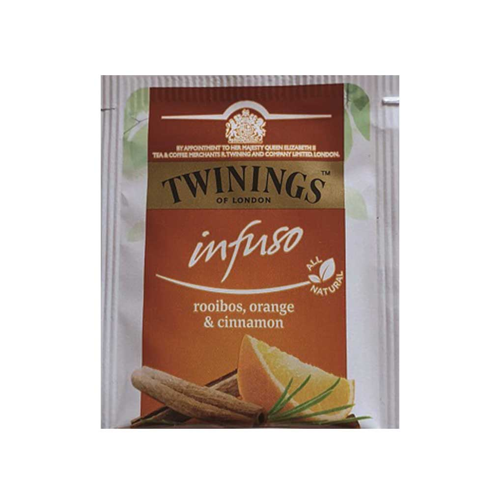 The Twinings - rooibos, orange, cannelle - 10mg