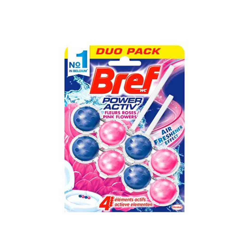 Bref - Nettoyant WC Duo Pack - Pink