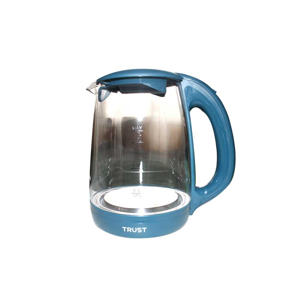 Trust - Bouilloire en verre à Eclairage Led - 1,7 L
