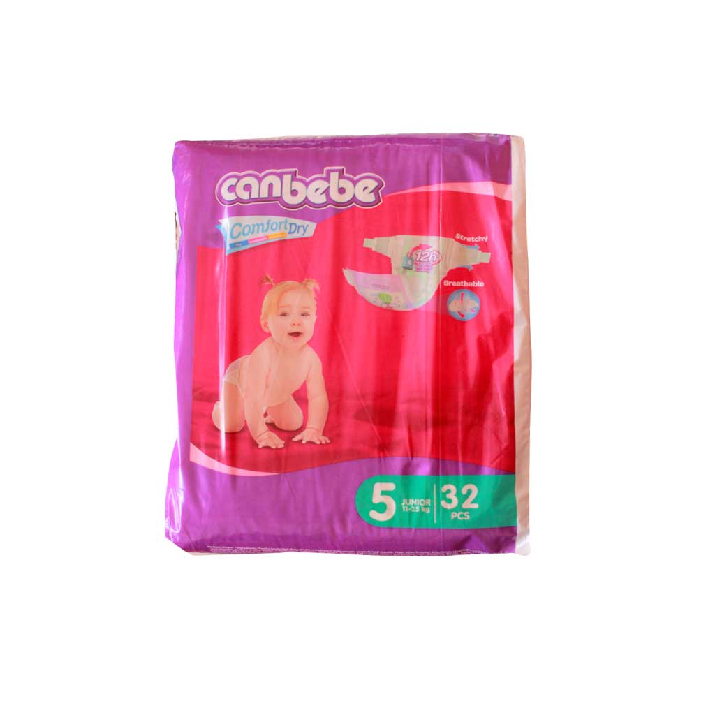 Canbebe - Couche super economic junior - 32 pièces