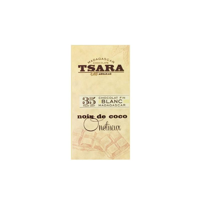 Tsara - Chocolat Blanc au Noix de Coco Onctueux