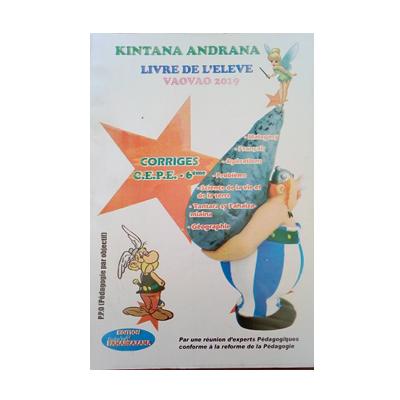 Kintana - Corrige CEPE 6eme