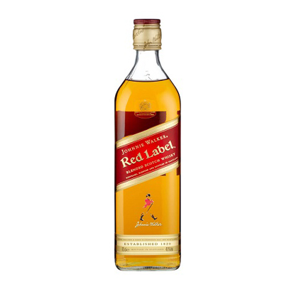 RED LABEL JOHNNIE WALKER  - 50 CL