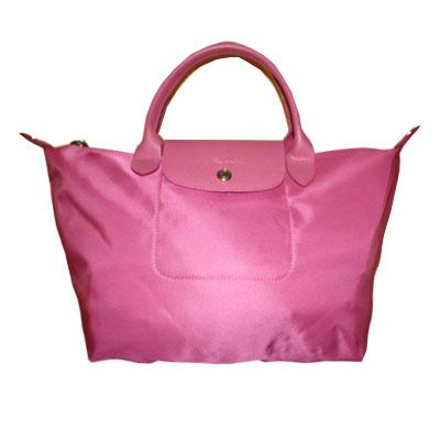 Longchamp - Sac à main Le pliage - Rose
