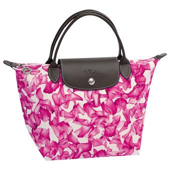 Longchamp - Sac à main Le pliage - Darshan Rose
