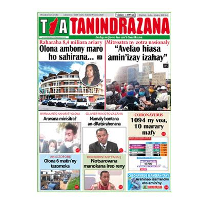TIA TANINDRAZANA 09-06-2020