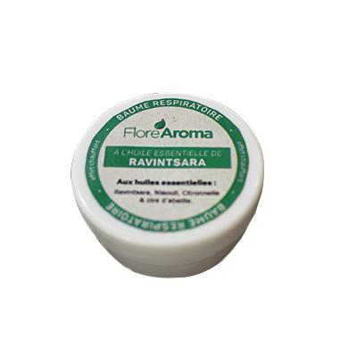 Flore Aroma - Baume respiratoire à l'huile essentielle de ravintsara
