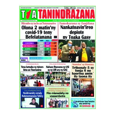 TIA TANINDRAZANA 17-06-2020