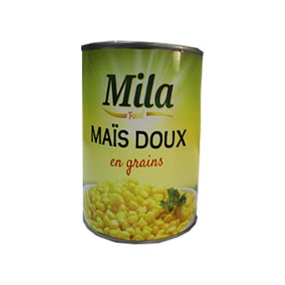 Mila food - Maïs doux en grains - 400g