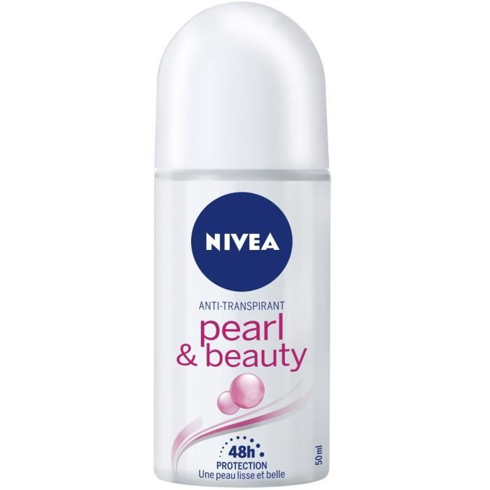 NIVEA - déo BILLE Pearl and Beauty - 50ML