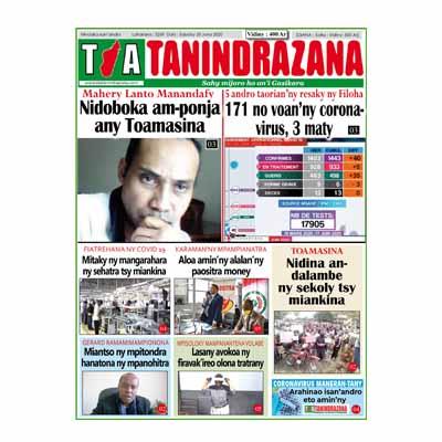 TIA TANINDRAZANA 20-06-2020