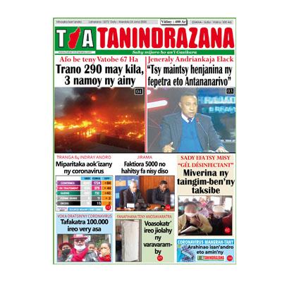 TIA TANINDRAZANA 24-06-2020