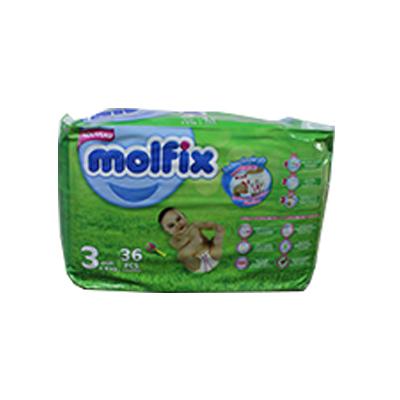 Molfix - Couche twin Midi - 36 pièces