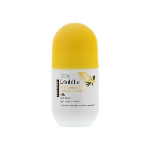 Sooa - déo BILLE anti-transpirant Vanille - 50ml