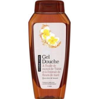 Sooa - Gel Douche à l'huile de monoi et fleurs de tiaré - 250ml