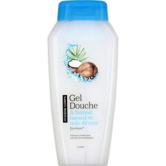 Sooa - Gel douche à l'extrait naturel de noix de coco - 250ml