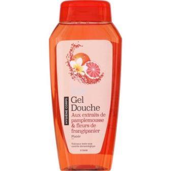 Sooa - Gel Douche Pamplemousse et fleurs de frangipanier - 250ml
