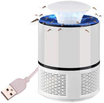 Lampe Anti-moustique éléctrique LED - Blanc