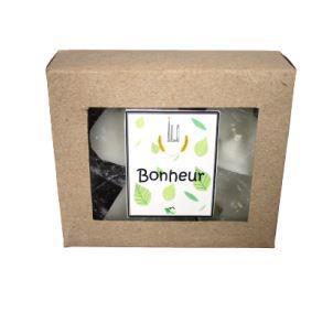 Green and Co - Bougie gm Bonheur (Ravintsara + Niaouli + Ylang ylang)
