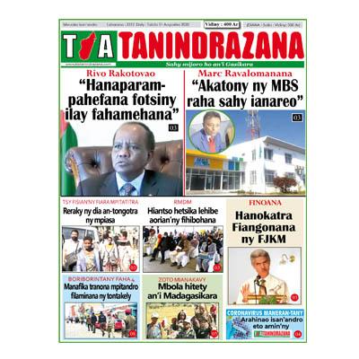 TIA TANINDRAZANA 11-08-2020