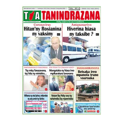 TIA TANINDRAZANA 12-08-2020