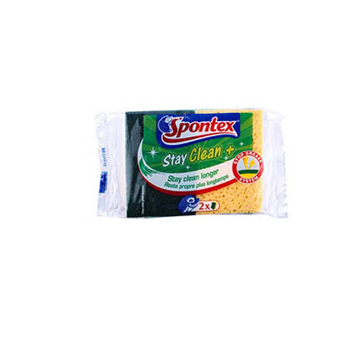 Spontex -  Eponges stay clean avec gratton vert