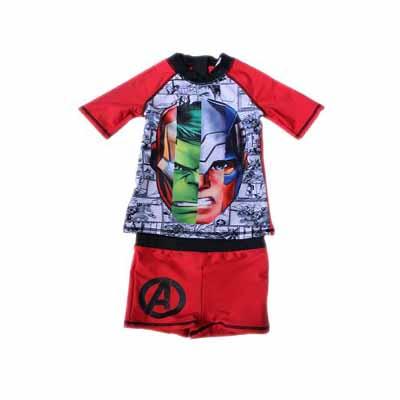 maillot de bain 2 pces Avengers (Taille 7 -8 ans)