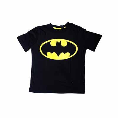 BAtman - T-shirt junior  Black (Taille 9 - 10 ans)