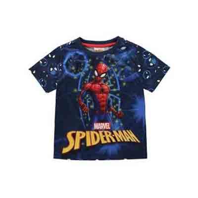 Spiderman - T-shirt manche courte - boy (Taille 3 - 4 ans)