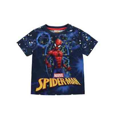 Spiderman - T-shirt manche courte - boy (Taille 5 - 6 ans)