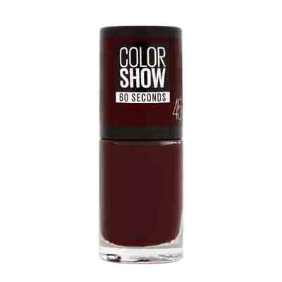 Maybelline - Vernis à ongles Colorshow (45) - Rouge cerise