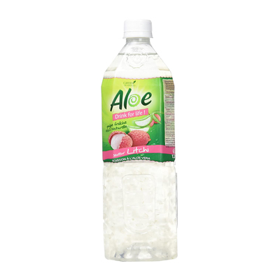 ALOE DRINK FOR LIFE - Boisson Litchi - 120cl