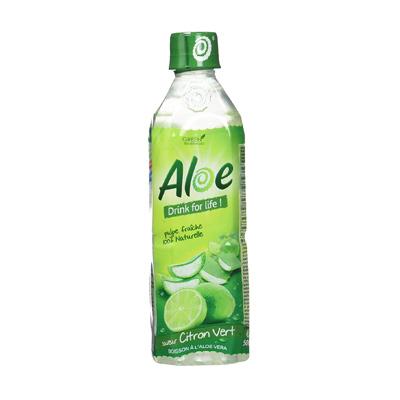 ALOE DRINK FOR LIFE - Boisson Citron Vert - 50 Cl