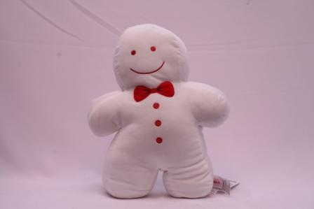 Miniso - Peluche Bonhomme de neige tout blanc