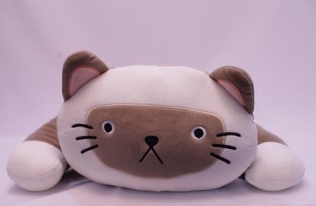 Miniso - Peluche chat marron