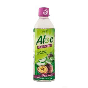 ALOE DRINK fOR  LIFE - Boisson Passion - 50cl
