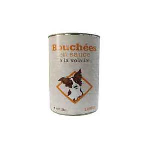 Leader Price - Bouchées en sauce à la volaille pour chien adulte - 1240g