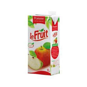 Le Fruit - Jus en brique Pomme - 1 L