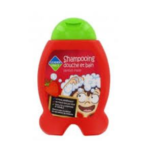Leader Price - Shampoing douche et bain Fraise- 250ml