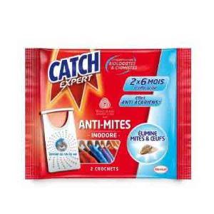 Catch - Anti-mites crochet inodore x2