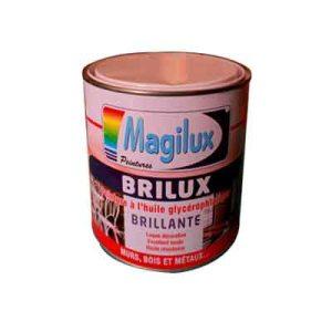 Peinture Blanc Brilux brillant - 3Kg