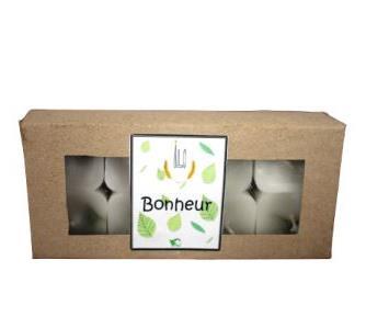 Green and Co - Bougie pm Bonheur (Ravintsara + Niaouli + Ylang ylang)
