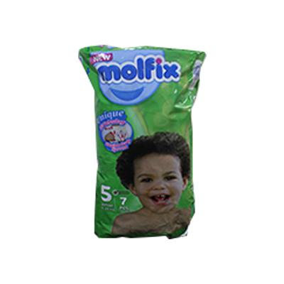 Molfix - Couche junior - 7 pièces