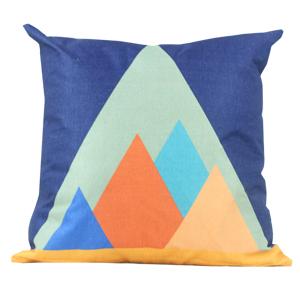 Coussin en lin - Pyramides