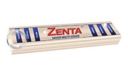 Zenta - Savon barre blanc multiusage - 920g